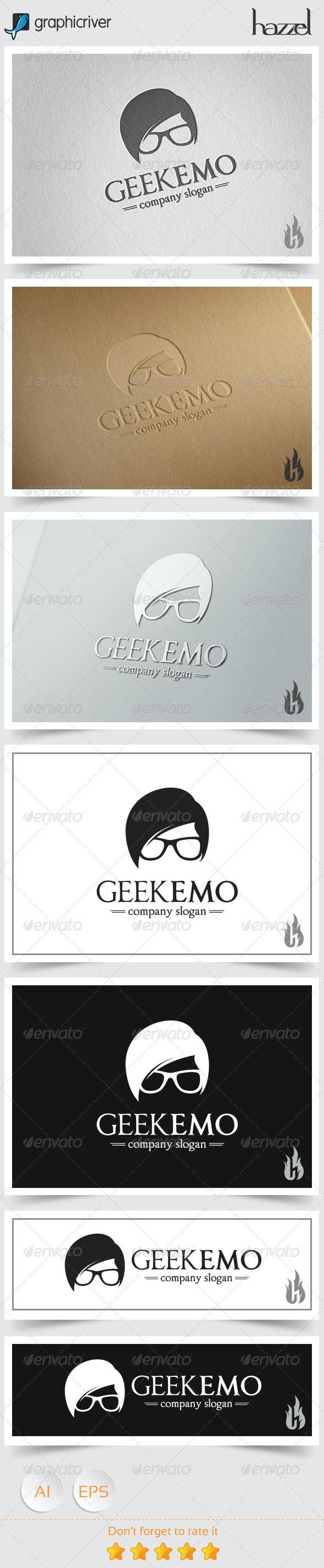 Geek Emo Logo - Humans Logo Templates