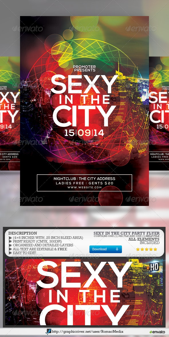 Sexy in the City Party - Clubs & Parties Events