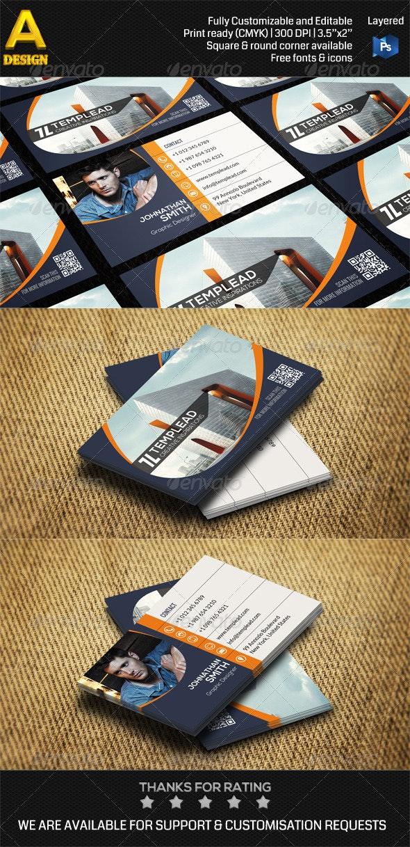 Architecture Corporate Business Card AN0460 - Industry Specific Business Cards