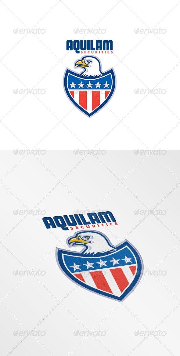 Aquilam Securities Logo - Animals Logo Templates