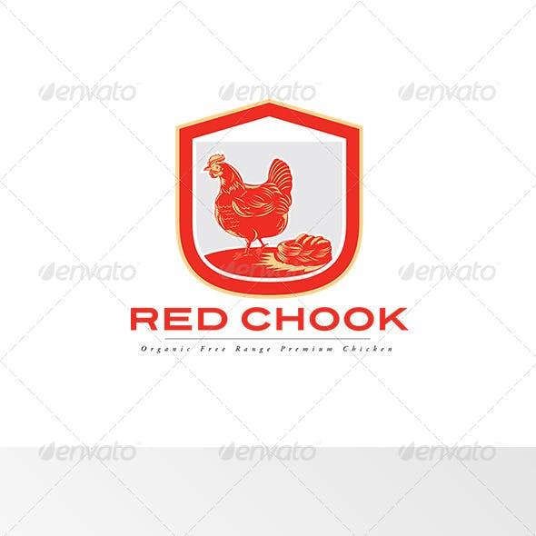 Red Chook Free Range Chicken Logo