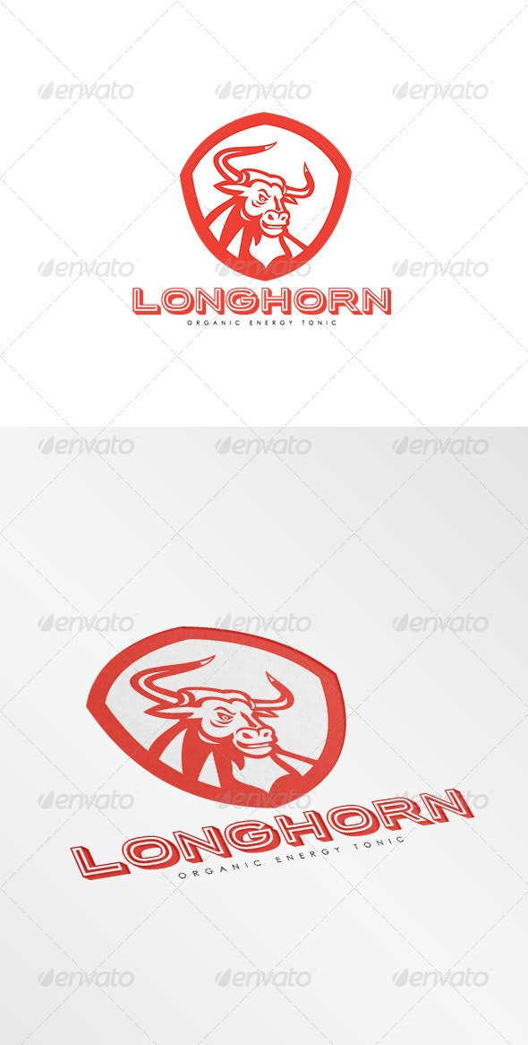 Longhorn Energy Tonic Logo - Animals Logo Templates