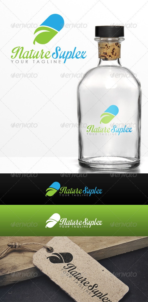 Nature Suplex Logo - Food Logo Templates