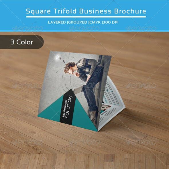 Square Trifold Business Brochure-V22