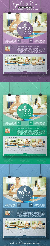 Yoga Flyer Template - Corporate Flyers