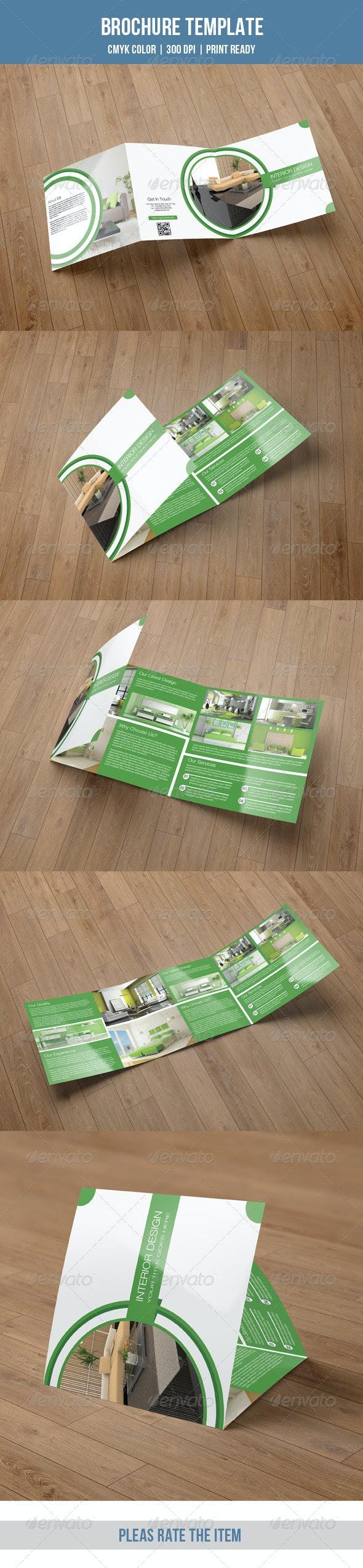 Green Interior Square Trifold-V23 - Corporate Brochures
