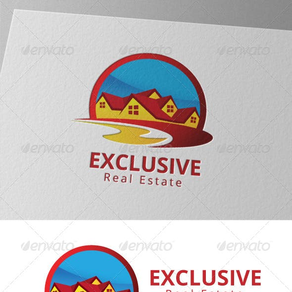 Exclusive Real Estate Home Realty Logo