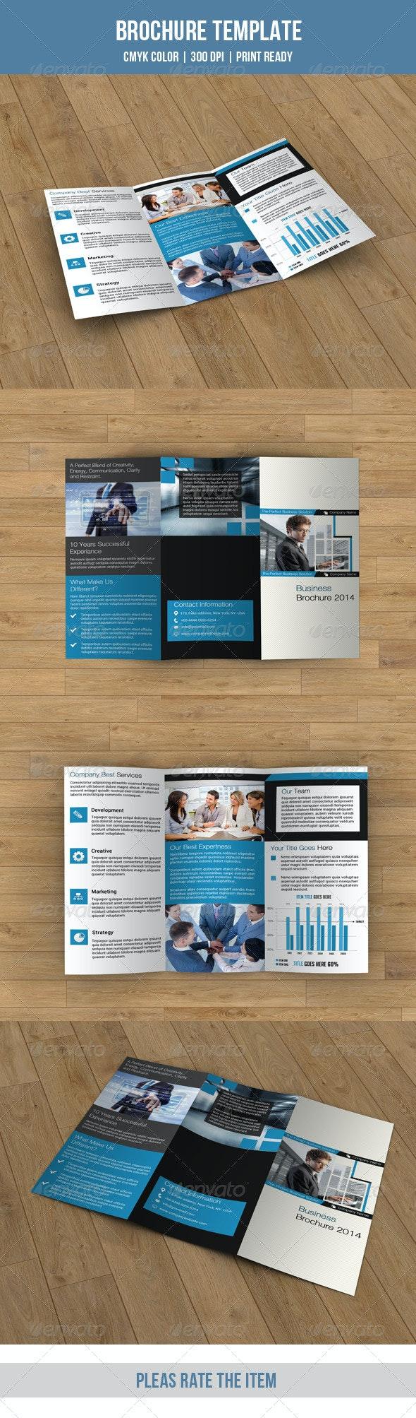 Trifold Business Brochure-V42 - Corporate Brochures