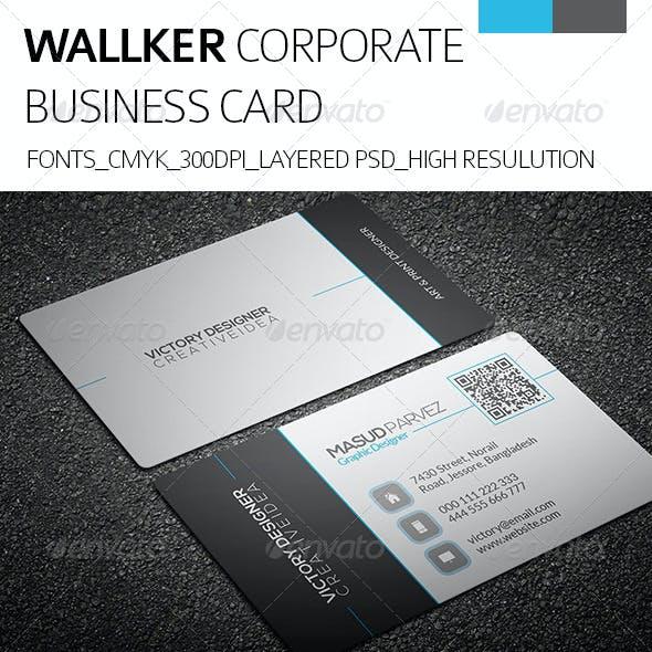 Wallker & Corporate Business Card