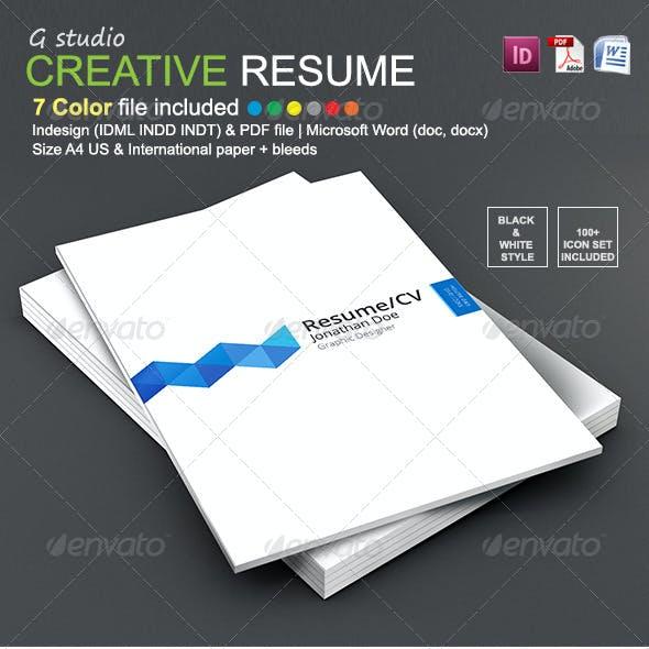 Gstudio Creative Resume Template