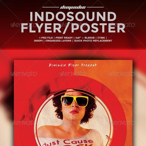Indie Sound Vol.002 Flyer Tempate