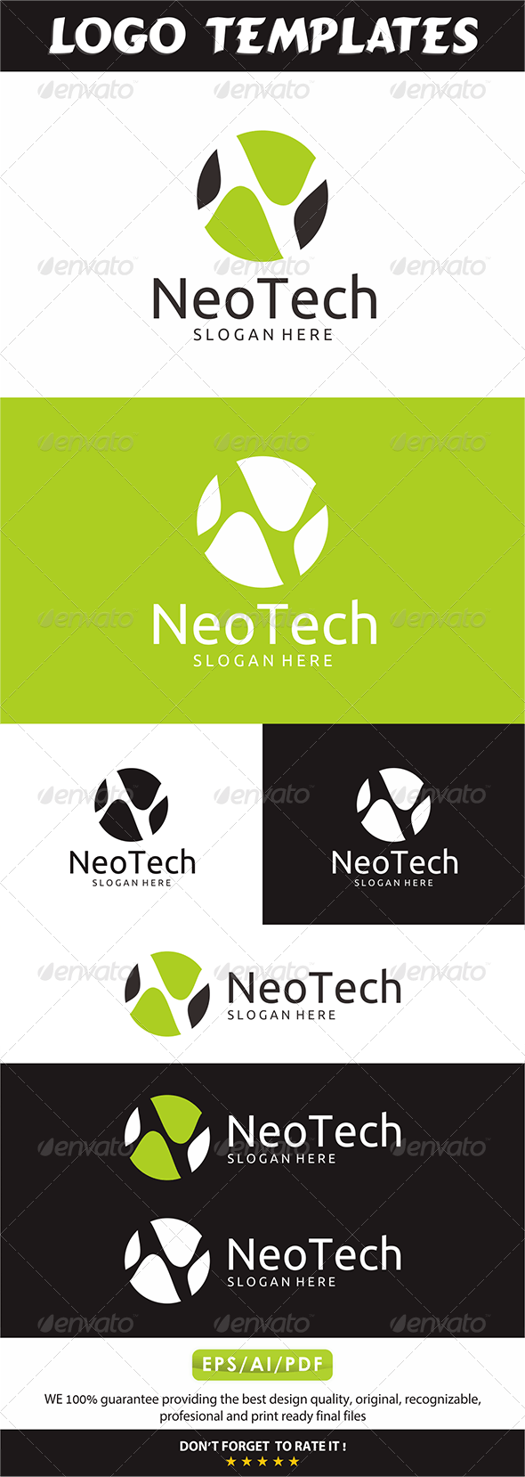 Neotech Logo - Letters Logo Templates