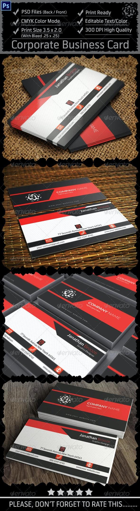 Corporate Business Card Vol : 7 - Corporate Business Cards