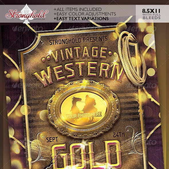 Western Flyer Gold Event Template