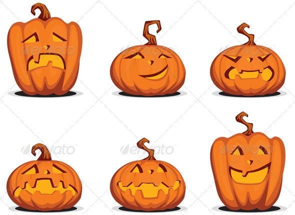 Helloween Pumpkin - Halloween Seasons/Holidays