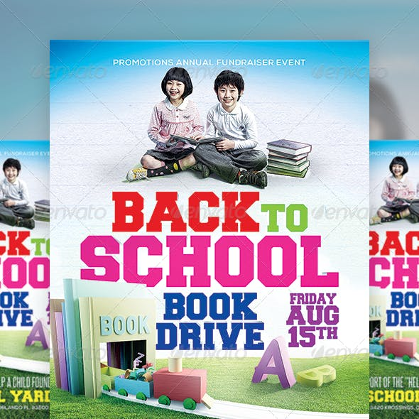 Back to School Book Drive