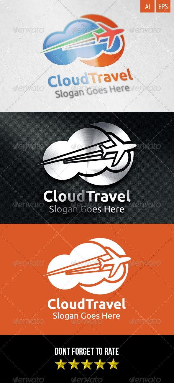 Cloud Travel Logo - Symbols Logo Templates
