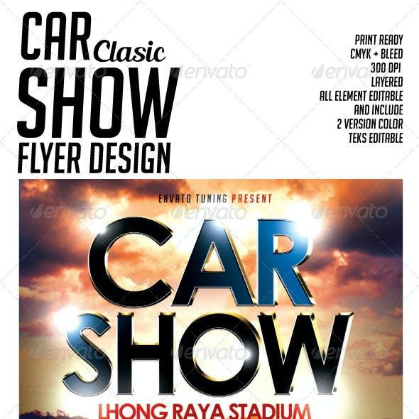 Car Show Clasic Flyer