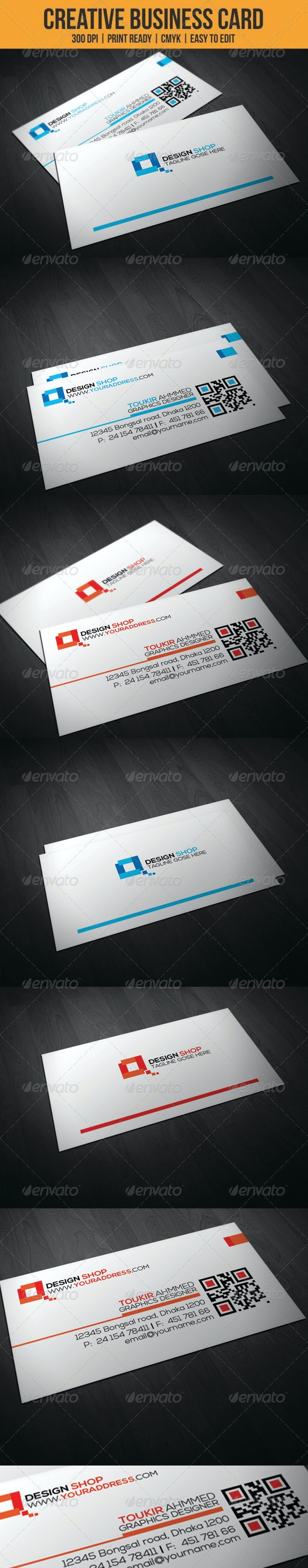 Sleek and Creative Business card - Creative Business Cards