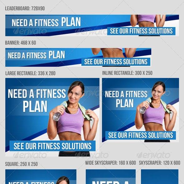 Fitness Banner Set V2