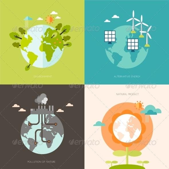 Ecology Concept  - Landscapes Nature