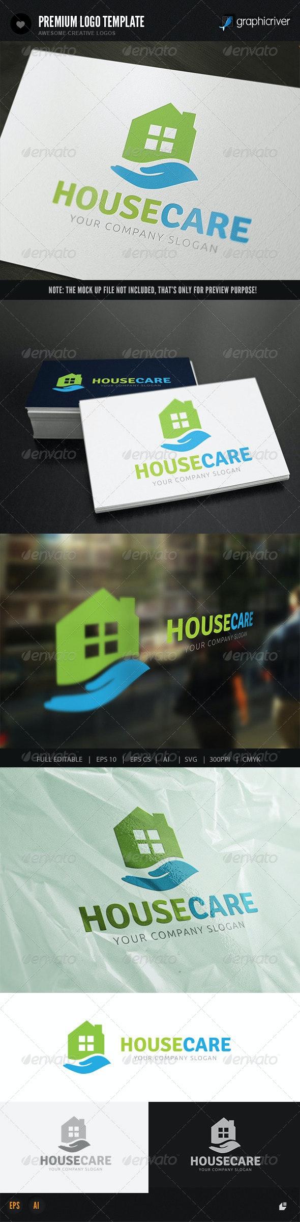 House Care - Buildings Logo Templates