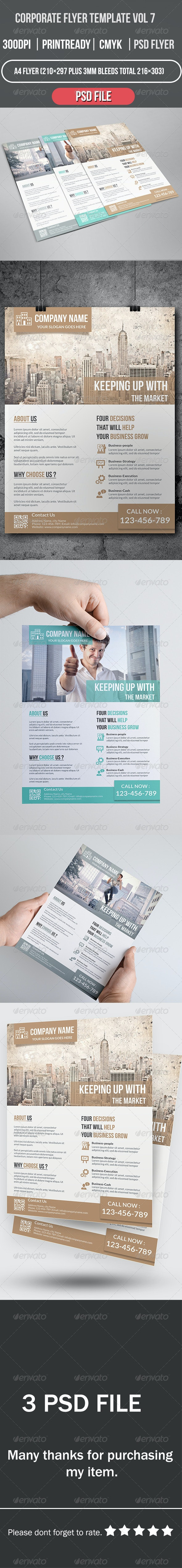 Corporate Flyer Template Vol 7 - Corporate Flyers