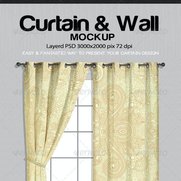 Curtain & Wall Mockup