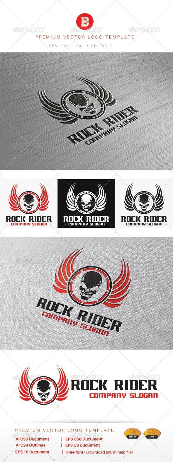 Rock Rider - Humans Logo Templates