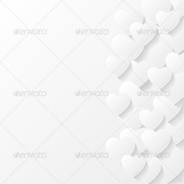 Abstract Valentine Background - Valentines Seasons/Holidays