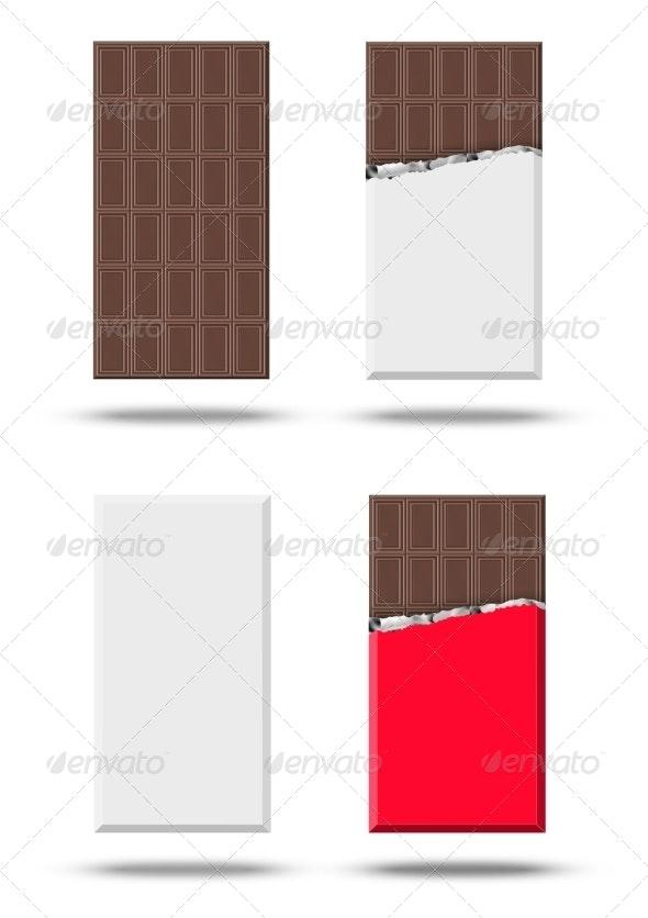 Chocolate Vector Set - Birthdays Seasons/Holidays