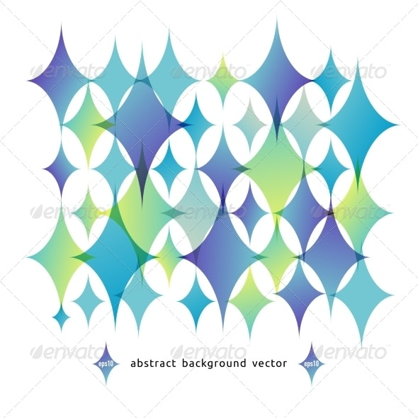 Vector Abstract Background of Geometric Shapes - Backgrounds Decorative