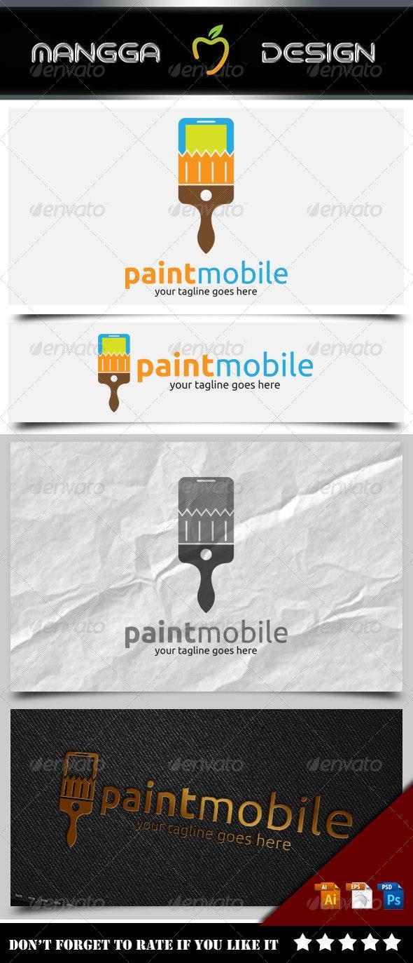 Paint Mobile Logo - Symbols Logo Templates