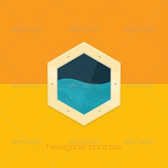 Hexagonal Porthole