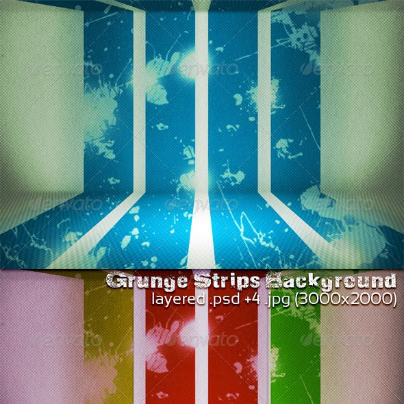 Grunge Strips Background
