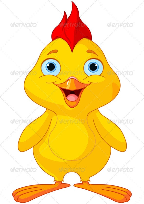 Funny Chick - Animals Characters