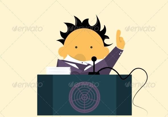 Orator - People Characters