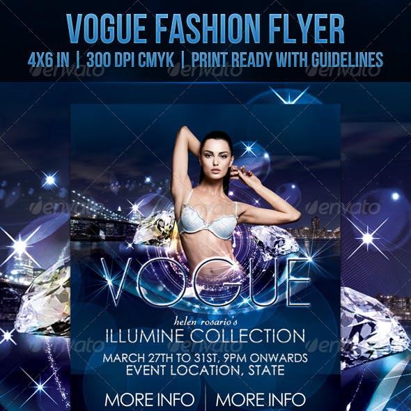 Vogue Fashion Flyer