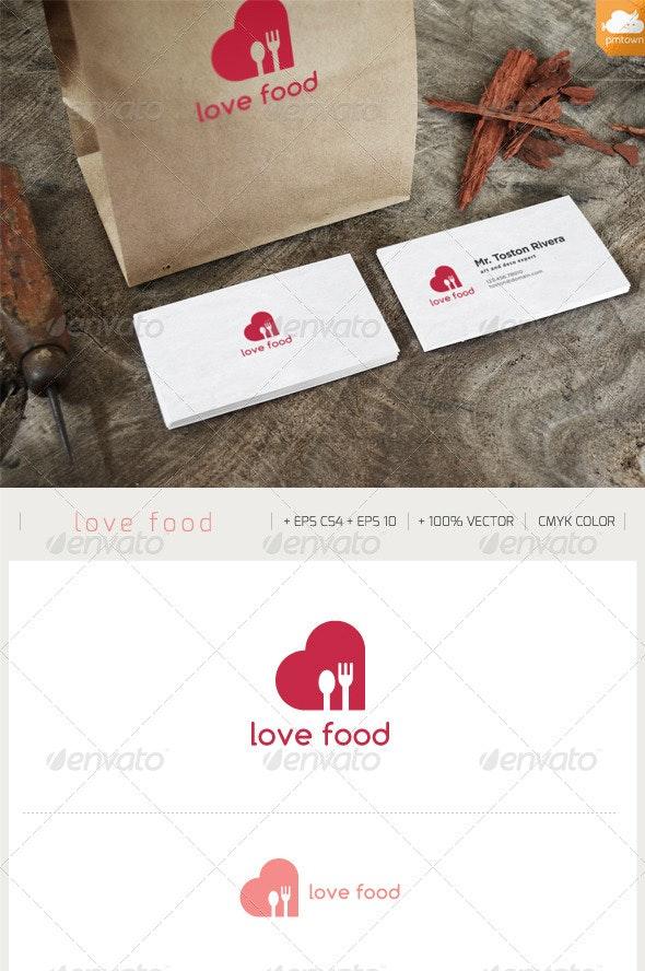 love food LOGO - Food Logo Templates