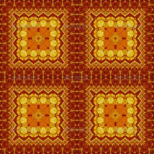 Seamless Pattern of Oil Painting - Patterns Decorative