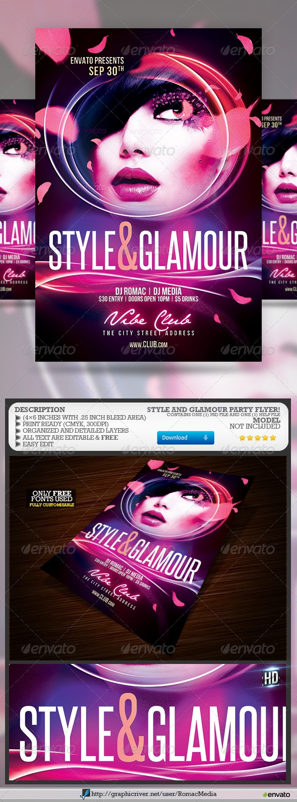 Style and Glamour Party - Clubs & Parties Events