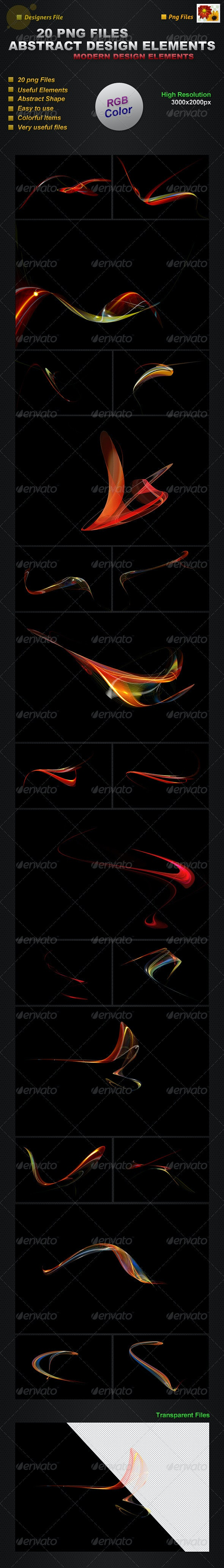 Abstract Design Elements - Miscellaneous Graphics
