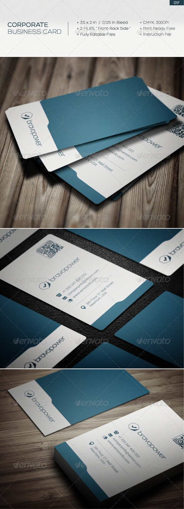Corporate business card 017 - Corporate Business Cards
