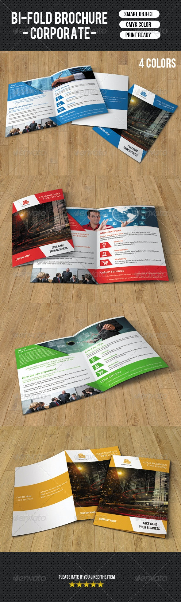Business Brochure Template-V106 - Corporate Brochures