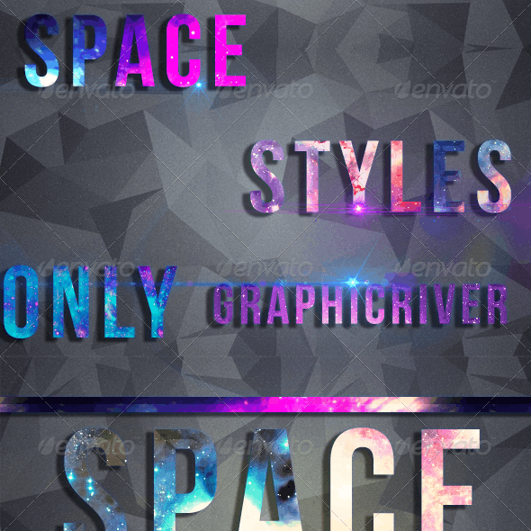 Space Text Styles