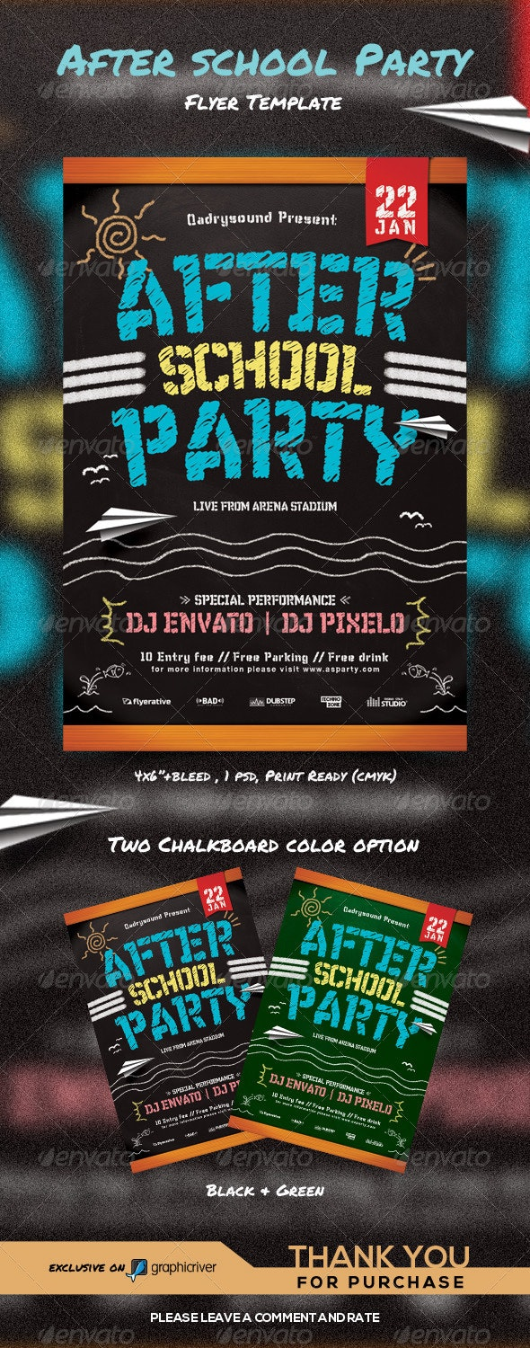 After School Party - Clubs & Parties Events