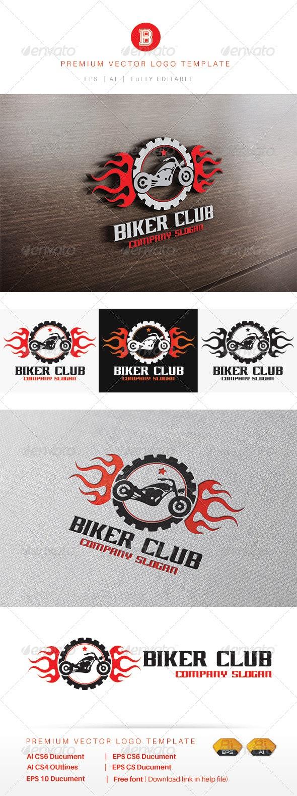 Biker Club - Symbols Logo Templates