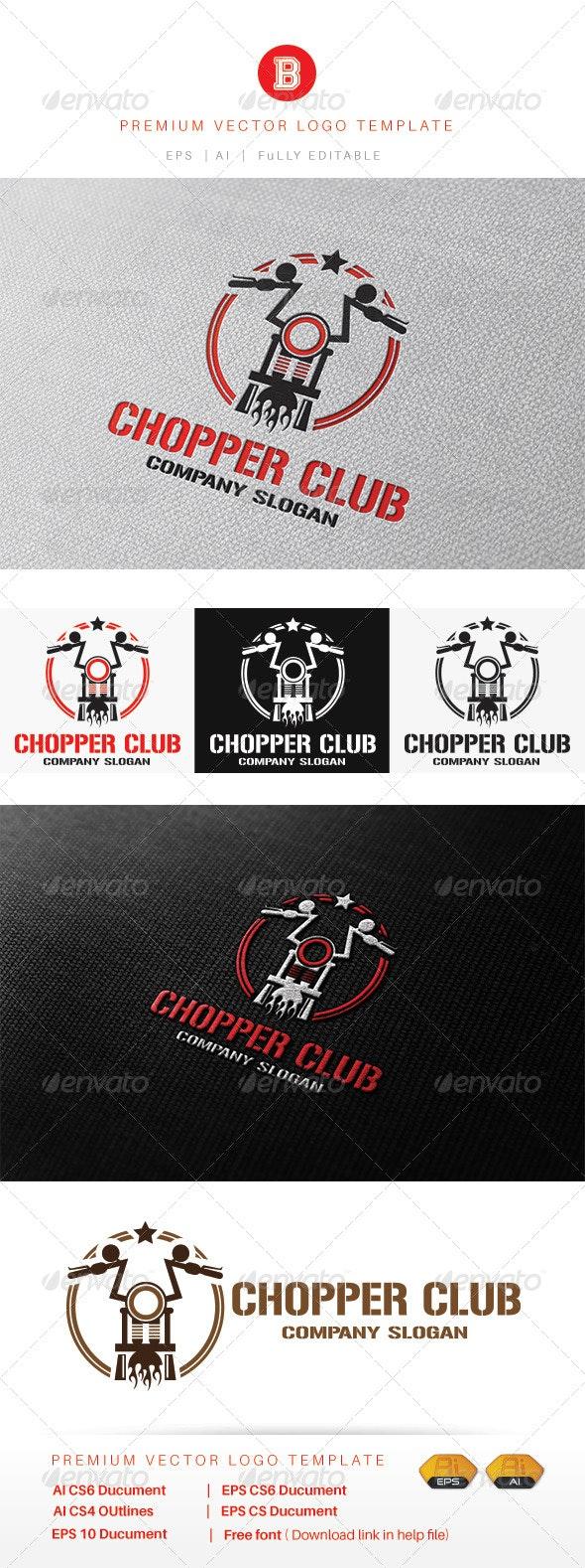 Chopper Club - Objects Logo Templates