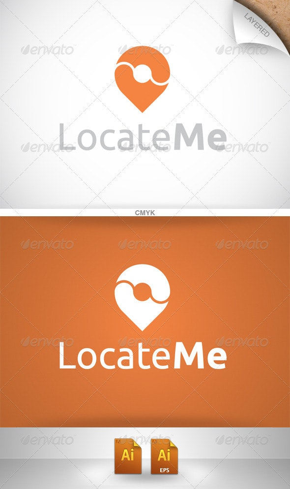 Locate Me Logo - Symbols Logo Templates