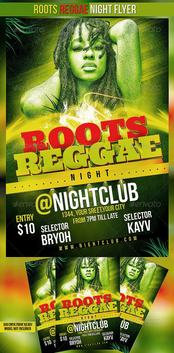 Roots Reggae Night - Clubs & Parties Events